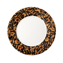 Load image into Gallery viewer, Macchia su Macchia Leopardo Plate, Set of 6