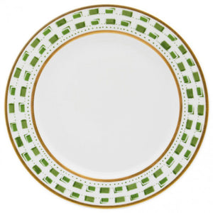 La Bocca Green Dinner Plate