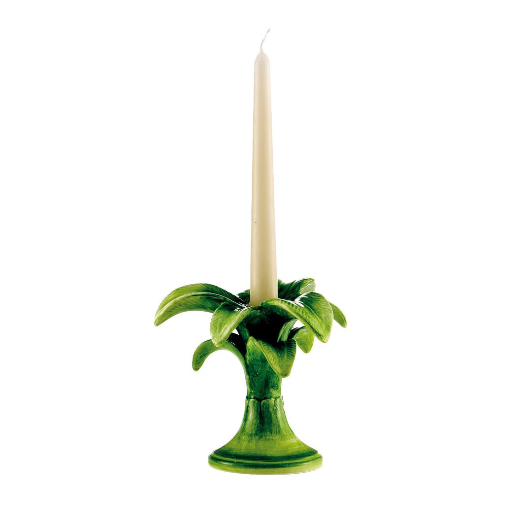 Small Palm Tree Candlestick, Set of 2