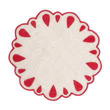 Load image into Gallery viewer, Lagrimas Red Coaster (Set of 4)