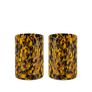 Macchia su Macchia Leopardo Glass, Set of 6