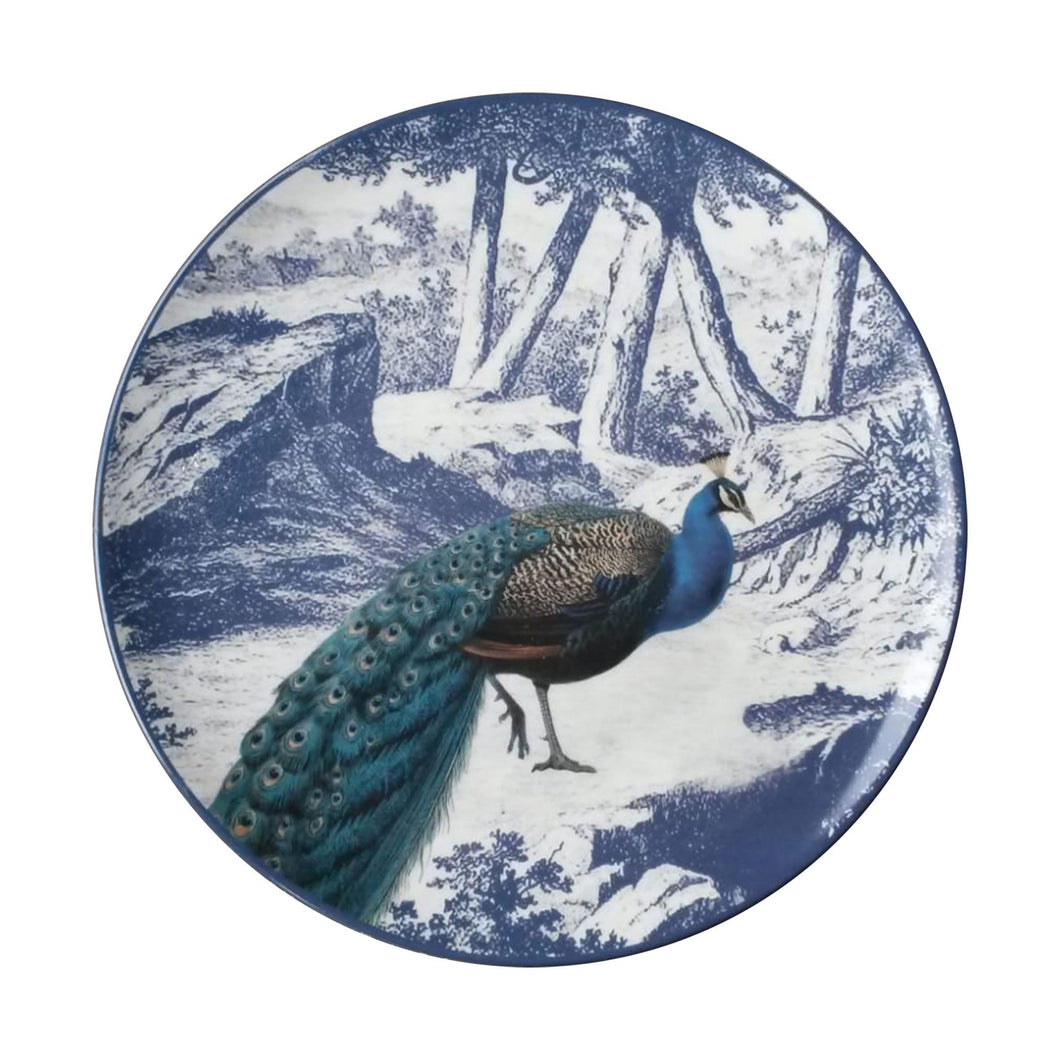 Menagerie Ottomane Peacock Plate