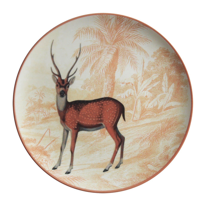 Menagerie Ottomane Deer Plate
