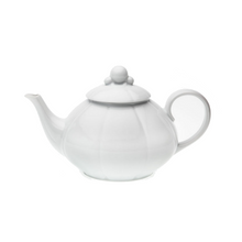 Load image into Gallery viewer, Nymphea White Teapot