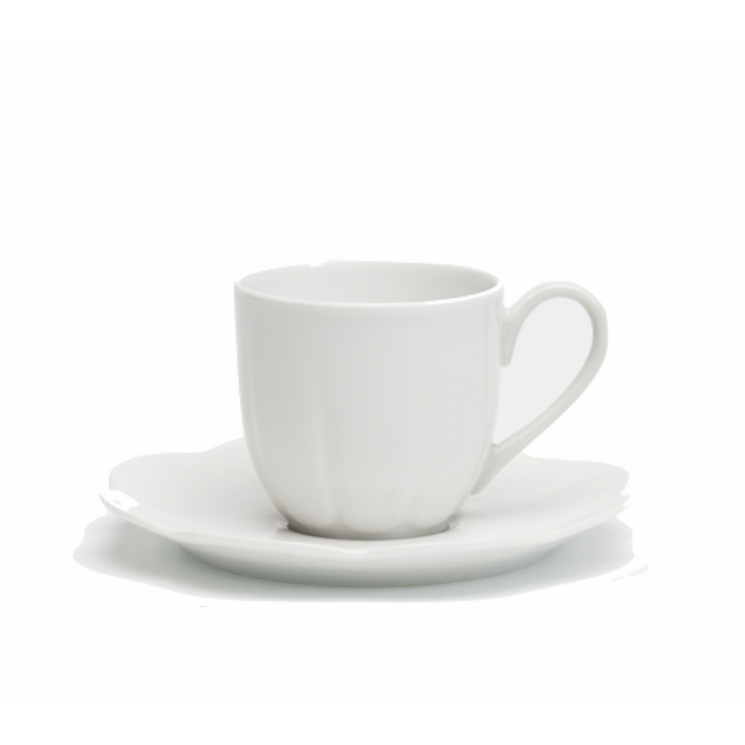 Nymphea White Coffee Cup