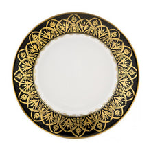 Load image into Gallery viewer, Oasis Black and Gold Soup Bowl