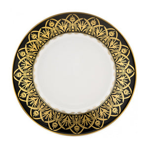 Oasis Black and Gold Soup Bowl