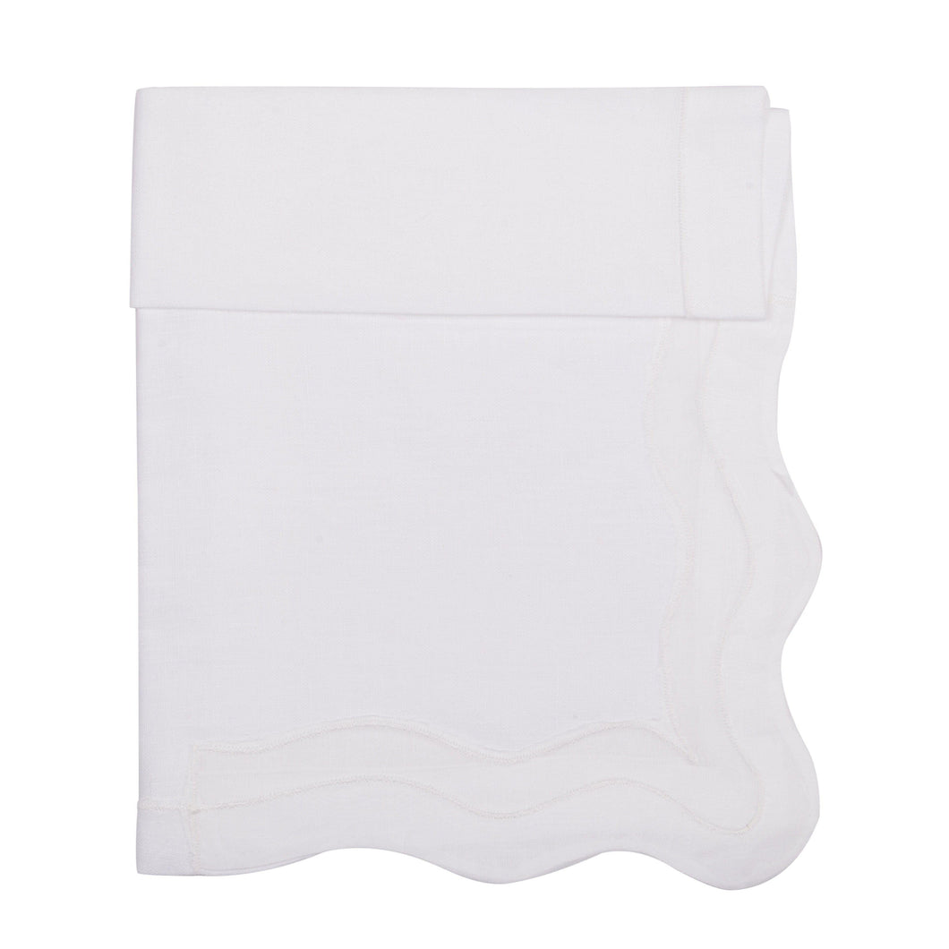 Olas White Napkin (Set of 4)