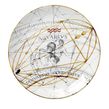 Load image into Gallery viewer, Zodiac Aquarius Plate