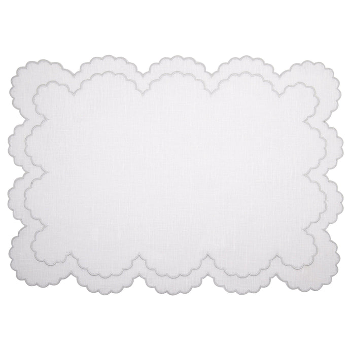 Preludio White Placemat (Set of 4)