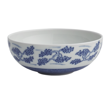 Blue Shòu Cereal Bowl