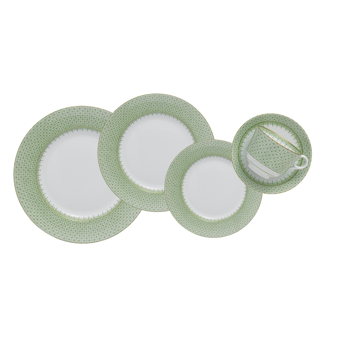 Apple Lace 5 Piece Place Setting