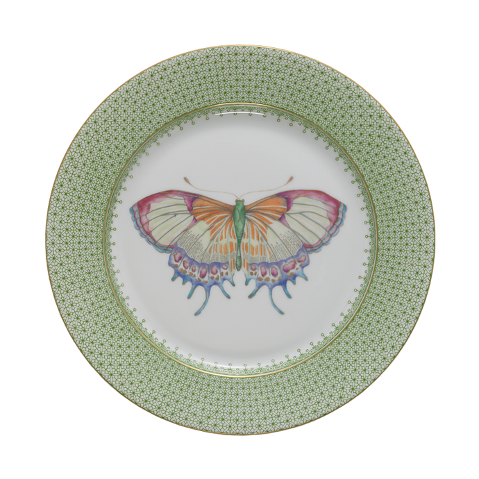 Apple Lace Dessert Plate with Butterfly