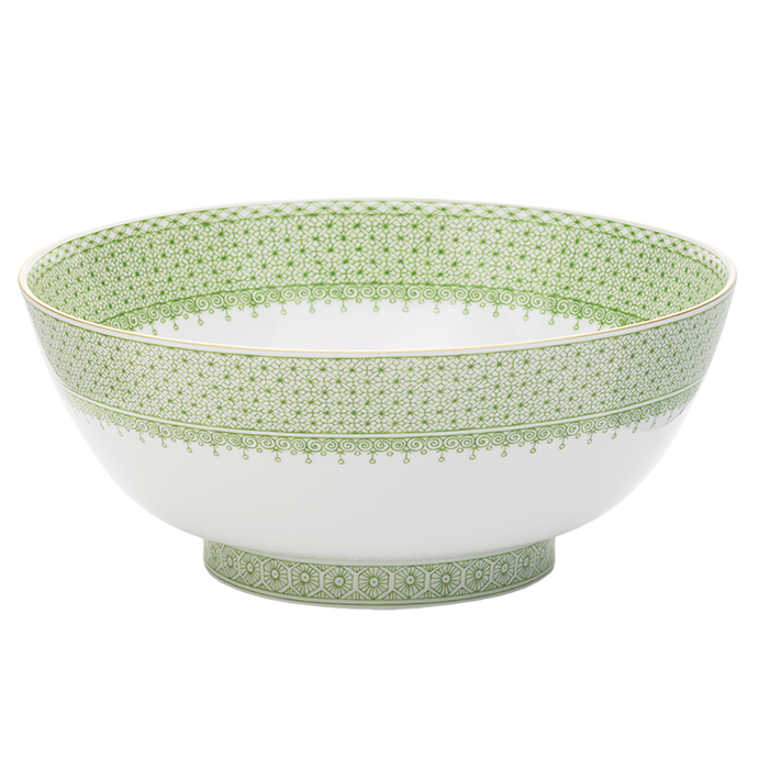 Apple Lace Round Bowl