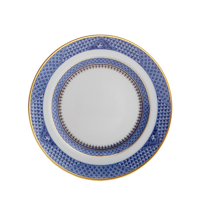Indigo Wave Bread & Butter Plate