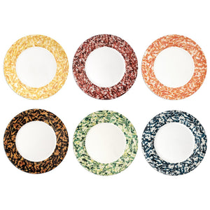 Macchia su Macchia Color Mix Plate, Set of 6
