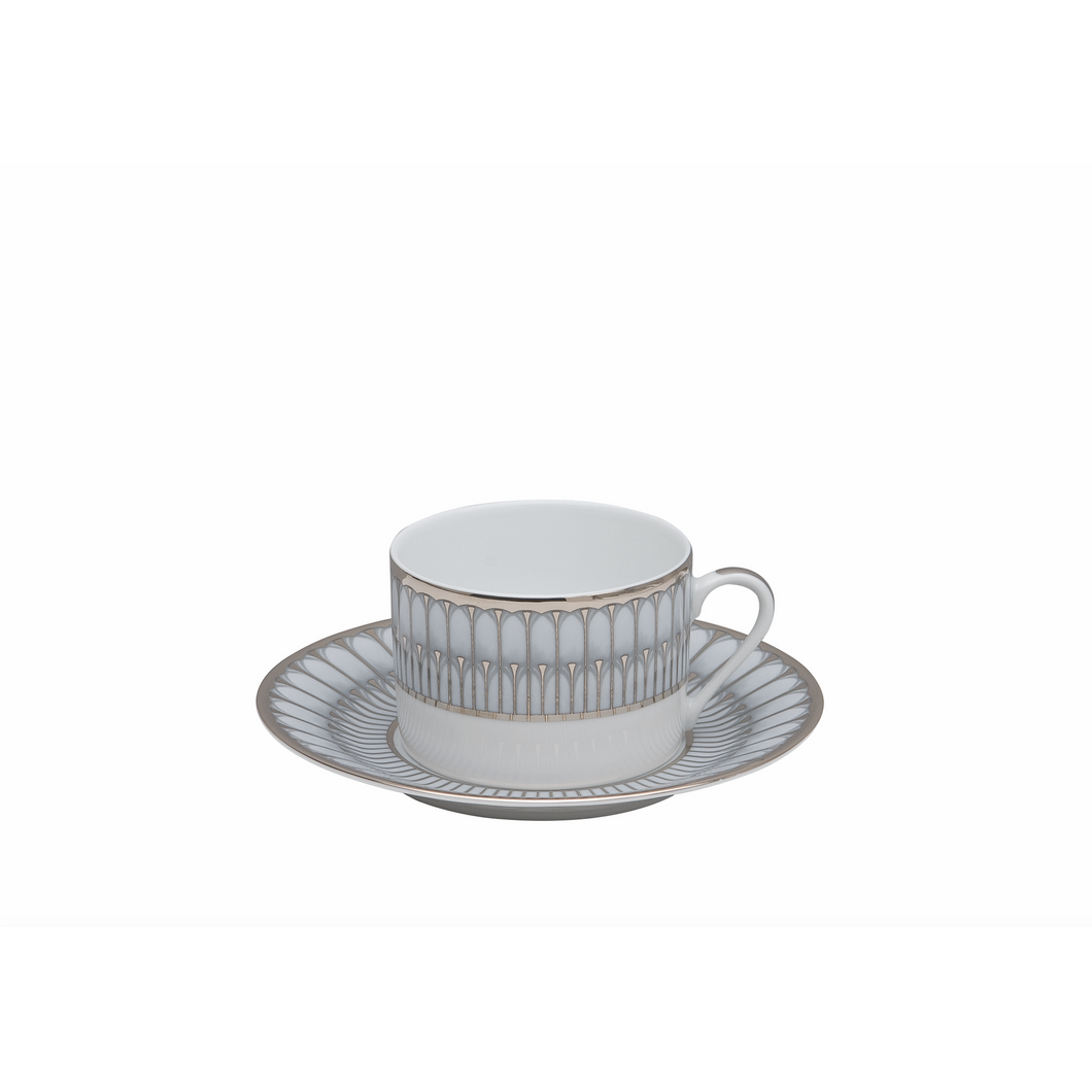 Arcades Tea Cup Gray/Platinum