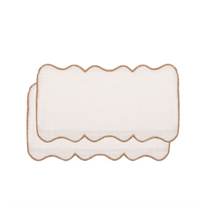 Setas Gold Cocktail Napkin (Set of 4)