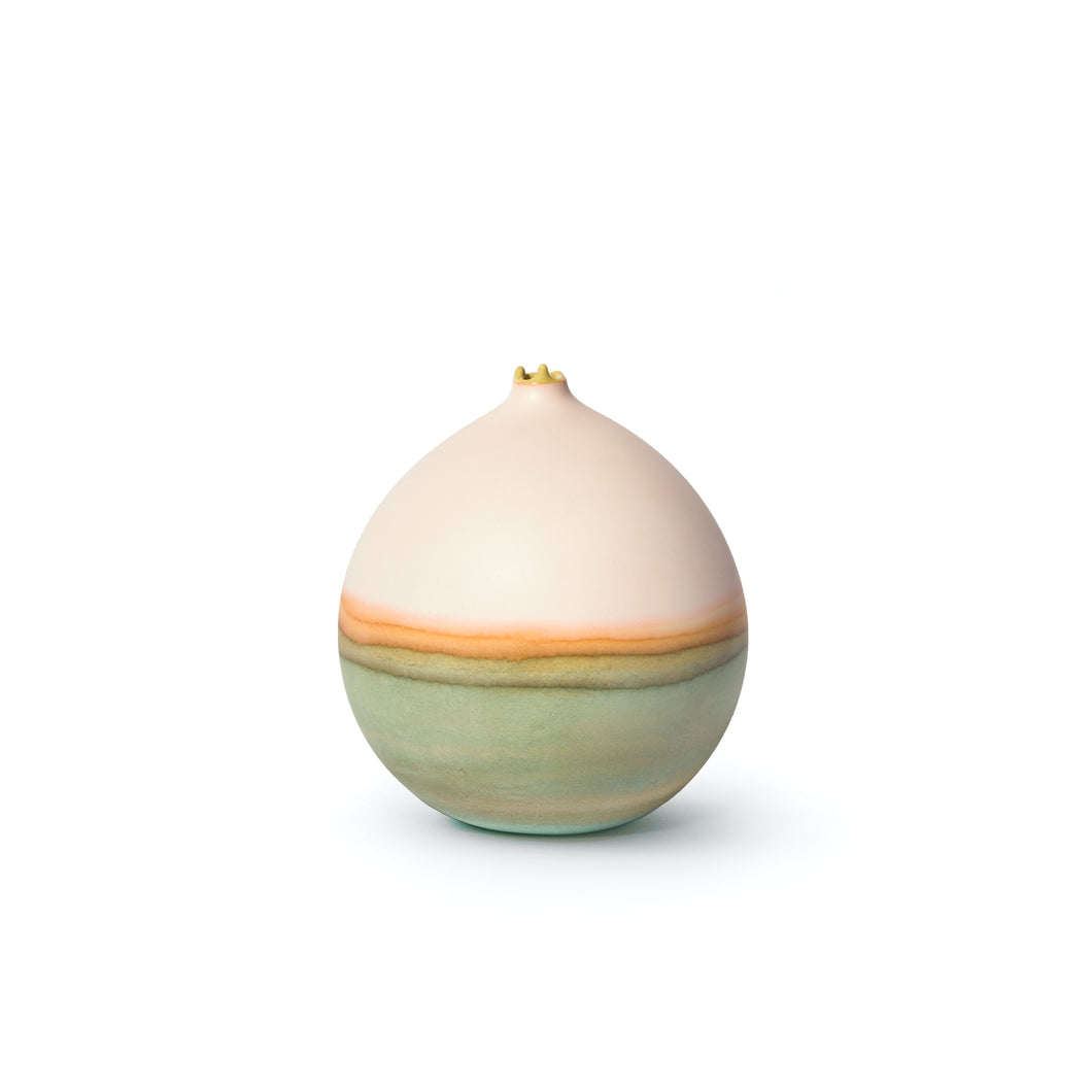 Pluto Peach and Sage Vessel