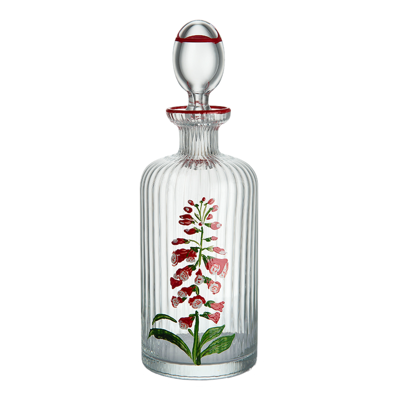 Hand-painted Oil Bottle