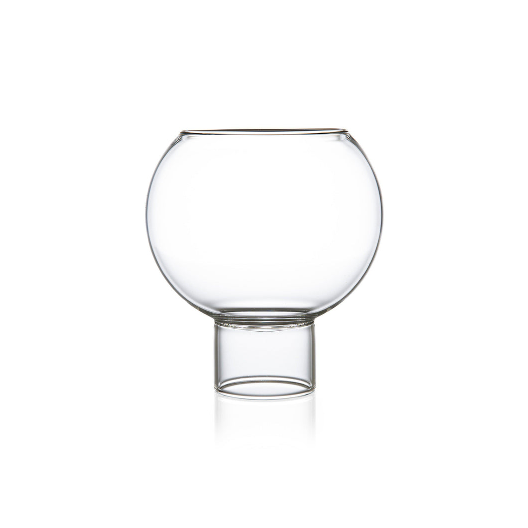 Tulip Low Medium Glass (Set of 2)