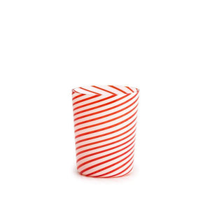 Twist Red Glass (Set of 6)