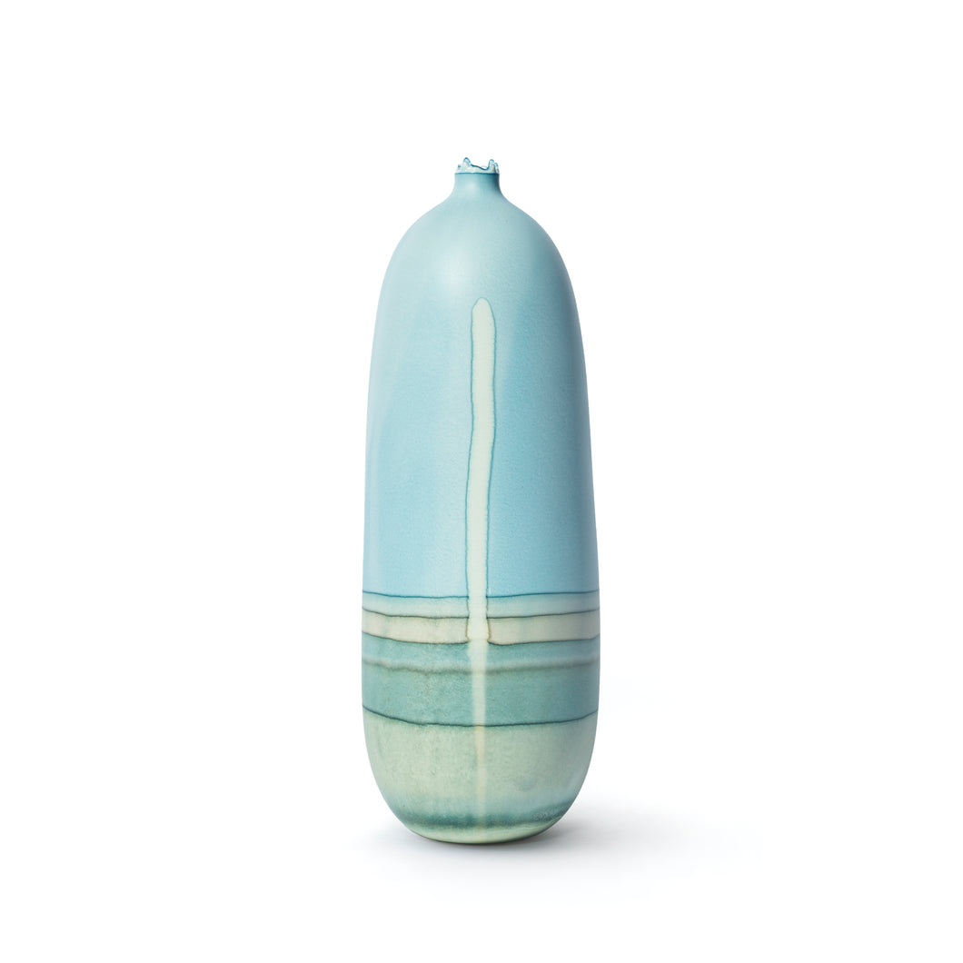 Venus Blue Green with Drip Vessel