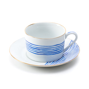 Olas Tea Cup with Plate