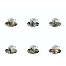 Load image into Gallery viewer, Animalia Espresso Cup, Set of 6