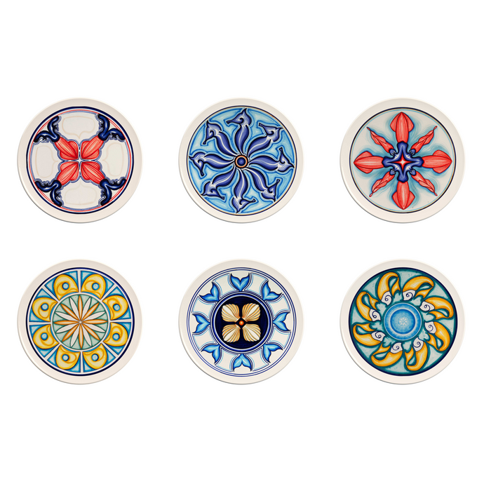 Colapesce Plate Set #3, Set of 6