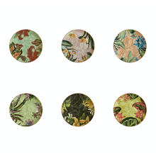 Load image into Gallery viewer, Animalia Dessert Plate 2, Set of 6