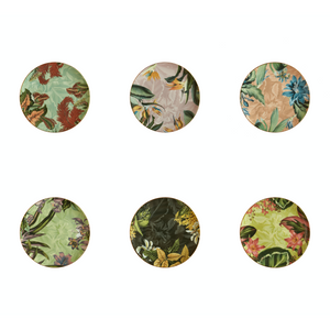 Animalia Dessert Plate 4, Set of 6