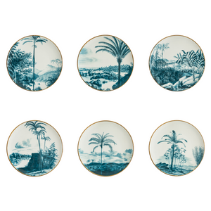 Las Palmas Dinner Plate 4, Set of 6