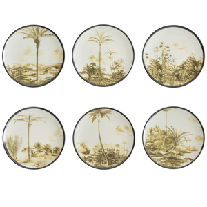 Las Palmas Dessert Plate 6, Set of 6