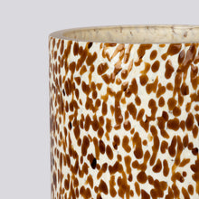 Load image into Gallery viewer, Macchia su Macchia Ivory & Amber Tall Vase