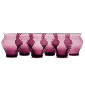 Anfora Amethyst Glass (Set of 6)