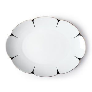 Drops Oval Serving Tray