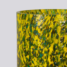 Load image into Gallery viewer, Macchia su Macchia Green & Yellow Tall Vase