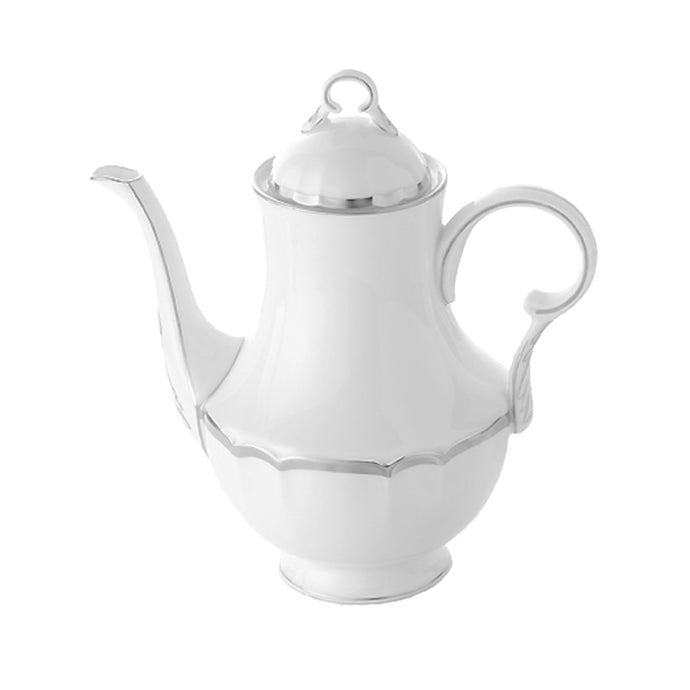 Colette Platinum Coffee Pot