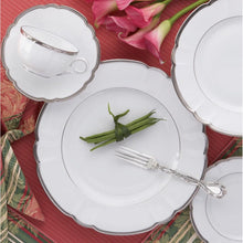 Load image into Gallery viewer, Colette Platinum Dinner Plate