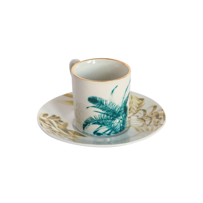 Las Palmas Espresso Cups, Set of 6