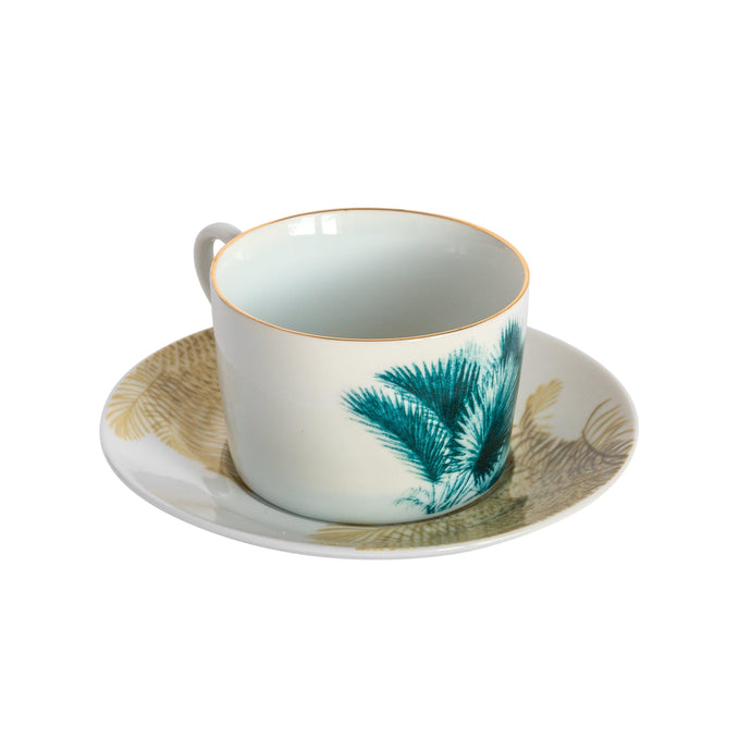 Las Palmas Tea Cups, Set of 6