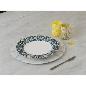 Macchia su Macchia Blue Mix Plate, Set of 6