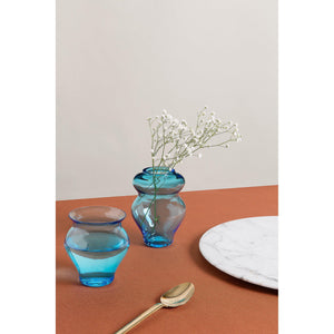 Anfora Aquamarine Glass, Set of 6