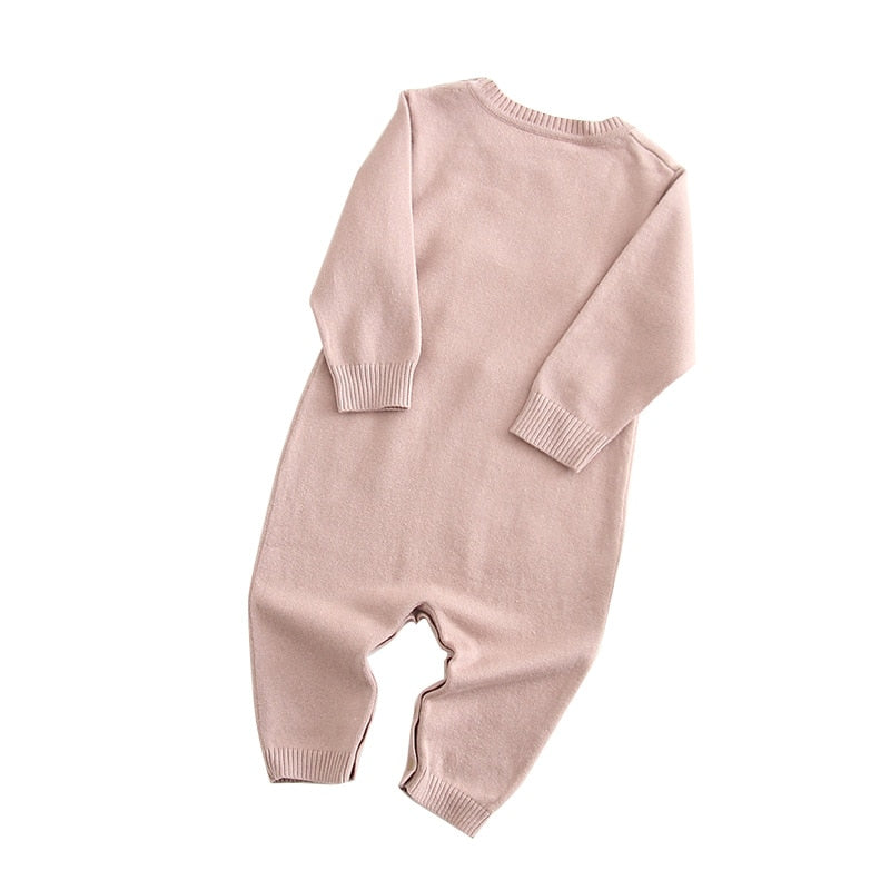 Cotton Knitted Jumpsuit - walker