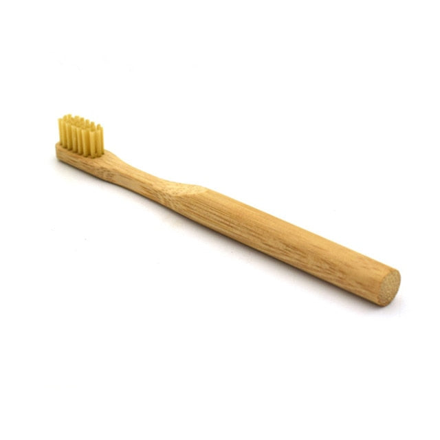 Natural Vegan Bamboo Toothbrush - walker