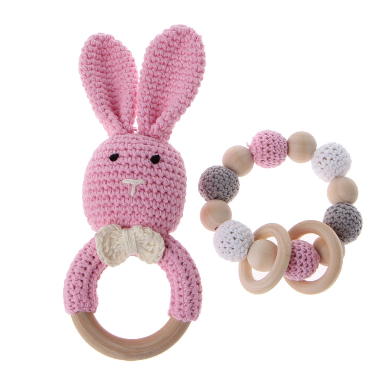 Wooden Teether Bracelet - walker