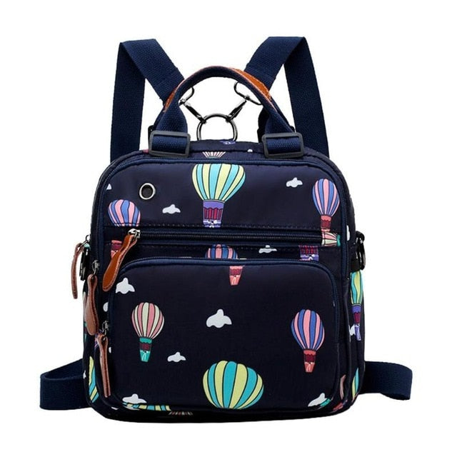 Hot Air Balloon Print Backpack - walker