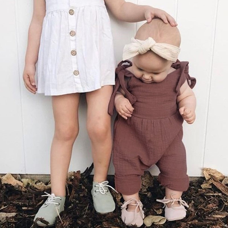 Sleeveless Baby Romper - walker