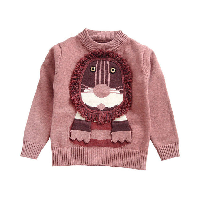 Cartoon Lion Knitwear - walker